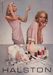 Halston Cosmetics 1978 (moogirl2) Tags: vintage retro vogue 70s 1978 70sstyle vintageads halston 70sfashions vintagvogue halstoncosmetics