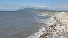 High tide at Earnse Bay (billnbenj) Tags: video surf waves spray cumbria barrow hightide walneyisland earnsebay