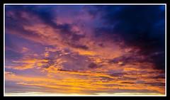 Sunset (veggiesosage) Tags: sunset sky clouds fujifilm x20 fujifilmx20