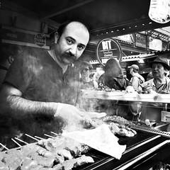 camden town vendor (petyrc) Tags: uk travel england food london britain vendor camdentown iphone mobilephotography iphoneography hipstamatic