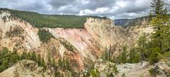 Yellowstone River, Panorama (E.K.111) Tags: panorama nature weather clouds river outdoors nationalpark pano ptgui