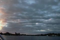 55 (_T_Willi_95) Tags: sunset summer usa lake nature beautiful night canon outdoors boat americanflag edits photograghy lakeorion canont3i rebelt3i