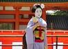 Special dance performace at Heian Shrine (logroll) Tags: japan fan dance kyoto shrine performance maiko geisha kimono gion matsuri 平安神宮 heianjingu miyagawacho 芸者 舞妓 koyoshi