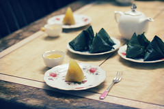 Special dessert on Tt oan Ng (bambooland) Tags: food cake dessert tea drink sweet traditional vietnam tradition tetdoanngo ttoanng bnhtro banhutro