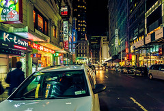 K-Town (Arutemu) Tags: city nyc newyorkcity urban usa ny newyork night america canon us lowlight neon cityscape nightscape nightshot unitedstates manhattan ciudad wideangle korean nighttime american citylights   koreatown nuevayork  6d  24105            eos6d     canon6d