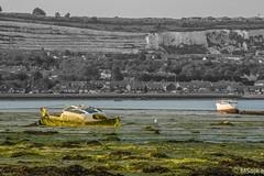 Portsmouth Harbor (mareksojka1) Tags: hill cliffs abandoned boat portchesterharbor portchester