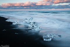 _LL-2302 (lars.lehnert) Tags: strand island sand sonnenuntergang natur jokulsarlon antarktis eiskristalle lnderundregionen neumayerstationii