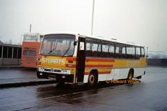 Stuart, Hyde 32 (SAD 128R) (SelmerOrSelnec) Tags: bus coach stuart hyde leopard willowbrook leyland spacecar nationaltravelsouthwest sad128r