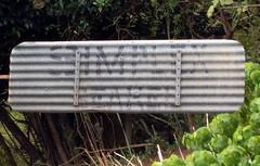 8 foot IBC geared Simplex windmill - tail (sarracenia.flava) Tags: ibc intercolonial boring company windmill 8 foot geared simplex maleny queensland qld australia brisbane