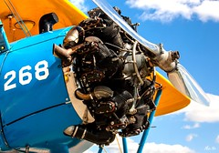 radical... (Stu Bo.. tks for 8 million views) Tags: sky sunlight beautiful airplane airport outdoor aircraft flight wing engine machine oldschool lookup airshow attitude skyward propeller radial 268 alltypesoftransport sbimageworks