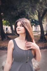 S. (Mary-Eloise) Tags: summer portrait woman girl nikon estate bokeh colori ritratti ritratto sotto pois d90 softtone ilovebokeh lovlely marialuisadicostanzo