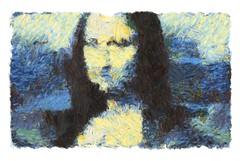 mona lisa - progress 2 (mark knol) Tags: monalisa generative abstract art mark knol progress