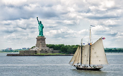Happy Friday to All (LorenzMao) Tags: ny newyork water liberty pirateboat missliberty lorenzmaophotography httpwwwlorenzmaophotographycom