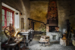 The Old Forge (deborahmoynihan) Tags: old ireland dublin building abandoned tools blacksmith forge hdr oldtimes nikond7200 aurorahdr