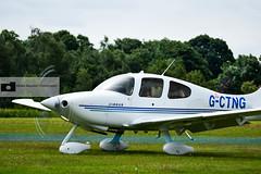 Cirrus Design SR20 G3 (athinaengland) Tags: plane airplane aircraft aviation vehicle cirrus rafcosford cosfordairshow cirrusdesignsr20g3