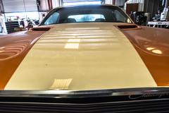 1972 Challenger hood (kryptonic83) Tags: 1972 challenger oldcars