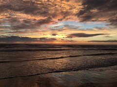 Sunset Zandvoort (yfarahi) Tags: sunset summer sky apple netherlands clouds landscape untouched epic zandvoort yasser iphone landscpa farahi shotoniphone iphone6s