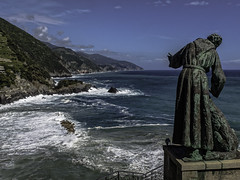 St. Francis (keith_shuley) Tags: italy cinqueterre stfrancis monterosso mediteranean