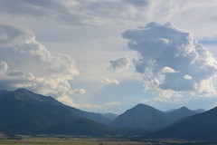 Buena Vista CO 4th of July 2016 (Colorblind In Colorado) Tags: road county travel summer sky usa mountain holiday mountains clouds rockies nikon scenery colorado view fireworks united scenic 4th july rocky valley vista states overlook buena