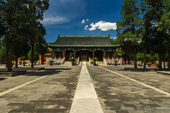 Temple of Ancient Monarchs (mingsquared) Tags: china history beautiful architecture temple ancient nikon beijing bluesky historical   nikond3200 tokinaaf1224mmf4