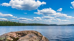 7DM25813 (VNR Photography) Tags: andrevonnickisch 2016 9058679106 vnr vnrphotography avnrphotogmailcom canada canon ontario outdoors summer algonquinpark park lake water rock tree trees canadian clouds beautiful view peaceful calm calming