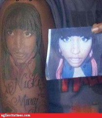 Not That Theres Such a Thing as a GOOD Nicki Minaj Tattoo (4577246c1e1b7b419e88cca8ab7d2749) Tags: fun death blog funny time native top lol humor best to waste fails stupidity nicki fail of stuppid minaj