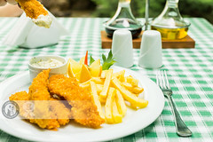 Fish Fingers (Cristian Sabau | Photography) Tags: fish closeup photography nopeople vegetable whitebackground potato romania seafood transylvania fried heap foodanddrink breaded deepfried friedpotato maincourse colorimage fishstick readytoeat