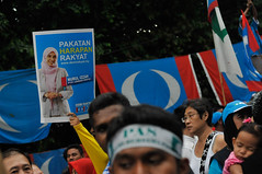Malaysia General Election 2013 (Khairil Safwan) Tags: people men election asia day south islam central chinese cities police east malaysia kuala polling ibrahim vote malaysian racist voting fraud lumpur malay opposition results safwan nurul anwar khairil izzah 2013 photojurnalist