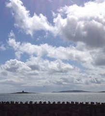 "Skerries Ireland 11th May 2013. Looking south from ""The Head"" over Shenick and Lambay Islands. (robin banks 007) Tags: justclouds uploaded:by=flickrmobile flickriosapp:filter=nofilter"