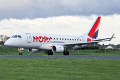 F-HBXO HOP for Air France E170 at Southend EGMC (AeroPics) Tags: plc air hop sen airfrance livery egmc londonsouthendairport fhbxo hopforairfrance