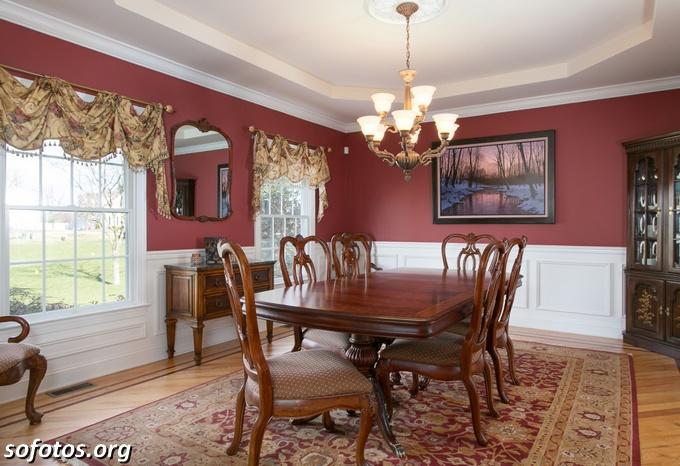 Salas de jantar decoradas (146)