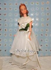 Vintage Steffie face Quick Curl Kelley Barbie Bride (The doll keeper) Tags: vintage bride dress barbie kelley gown quickcurl