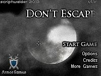 不可以逃脫(Don't Escape)
