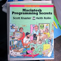 Scott Knaster and Keith Rollin, Macintosh Programming Secrets (Damian Cugley) Tags: summer england book retro cover oxford bookshop oxfam computerhistory applemacintosh oxfambookshop macos8 2013 dustbinofhistory