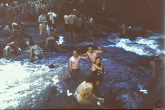 River bathing (JF Sebastian) Tags: people river bath crowd bolivia concepción bathing scannedslide rutaquetzal digitalized morethan100visits morethan250visits rutaquetzal1996 oldfilmautomaticcamera