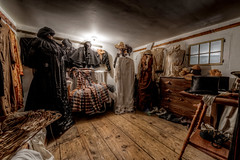 "Gorgeous Clothing (Frank C. Grace (Trig Photography)) Tags: ri america inn rustic colonial newengland historic haunted spooky rhodeisland haunting textiles paranormal paine colonies 1668 painehouse trigphotography westernrhodeislandcivichistoricalsociety frankcgrace francisbraytonsr ""legendtripping"""