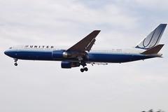 N658UA Boeing 767 United (markyharky) Tags: london heathrow aircraft aviation united boeing lhr 767 heathrowairport boeing767 londonheathrow egll avgeek n658ua