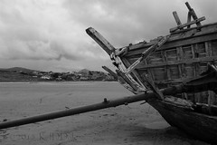 IRL_040 Boat at Bunbeg Beach (2) (KJD Dale) Tags: beach shipwreck donegal weatherbeaten errigal gweedore bunbeg derrybeg doirbeaga magheraclogherstrand
