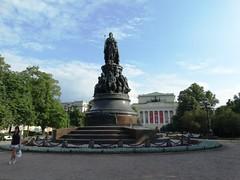 Pl. Ostrovskogo (Letty*) Tags: travel stpetersburg europe russia russiaandescandinavia