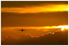 jet-takeoff (bmayberr) Tags: sunset sky phoenix clouds plane warm desert jet planes takeoff