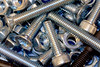 Nuts and Bolts (tudedude) Tags: macro thread screw model steel machine engineering tools workshop bolt precision nut fitting wingnut gbr fastener threaded nutbolt hexhead allenkey caphead machinescrew countersunk posidrive tudedude