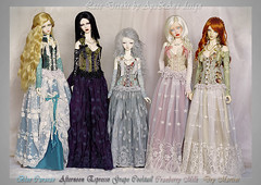 The Lace Drinks (AyuAna) Tags: set proud ball design clothing doll dress little 1st handmade ooak eid chloe dia luna clothes monica harmony bjd dollfie soom eris limos jointed spiritdoll iplehouse supergem ordoll nyxdoll ayuana