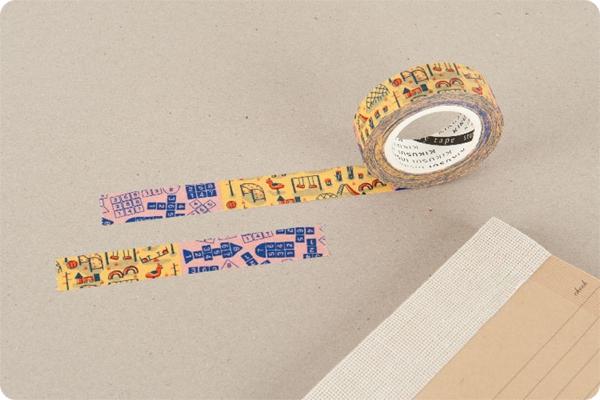 菊水KIKUSUI story tape和紙膠帶 生活系列-遊樂場
