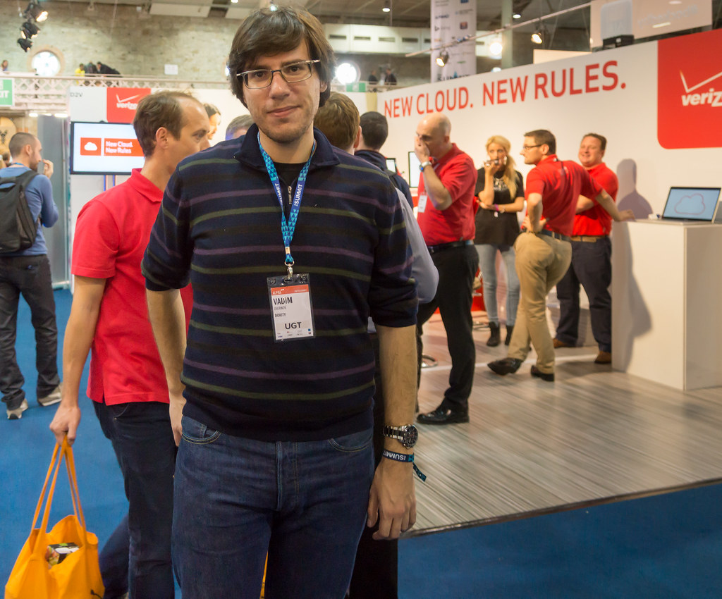 Today At The 2013 Web Summit I Met Vadim Zhernov The CEO Of Croice [Interactive Audio Streaming Platform]