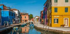Burano (Scottmh) Tags: travel venice italy water nikon europe canals venezia burano d60 2013