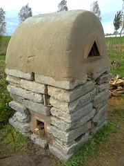 Rocket stove oven (francis jonckheere / ony one) Tags: oven pizzaoven rocketstove rocketmassheater rocketstoveoven
