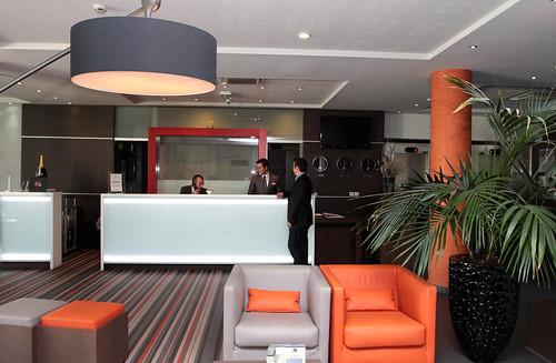 Lobby - Comptoir de réception