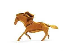 Horse (Al3bbasi.) Tags: new sculpture horse art animal john paper mammal design origami roman robe year drawings newyear cp diagrams montroll diaz takashi satoshi hojyo mabona kamiyas montrol tahashi al3bbasi