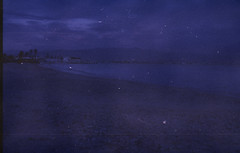 Poetto B (Claudio John Floris's Photo) Tags: sardegna blue sea film landscape photo mare kodak scanner 10 blu iso 400 epson years asa yashica spiaggia cagliari paradiso anni esperimenti sensibilit poetto acido pellicola sviluppo dominanti analogico fx3 v500 sardigna scaduto scaduta