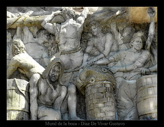 Mural de la boca - Diaz De Vivar G